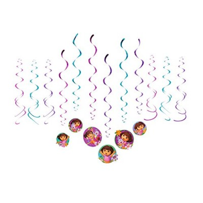 American Greetings Dora The Explorer Hanging Party Decorations Party Supplies