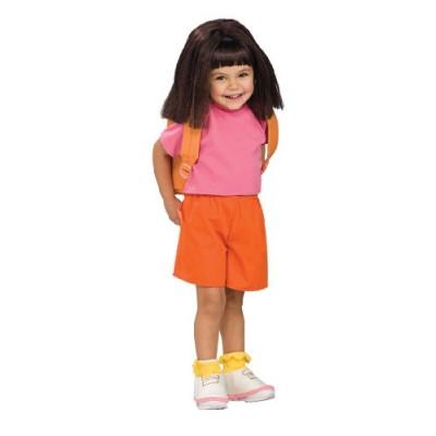 Child's Wig Dora the Explorer