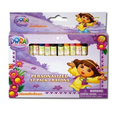 Dora The Explorer 32 Count Crayons In A Box