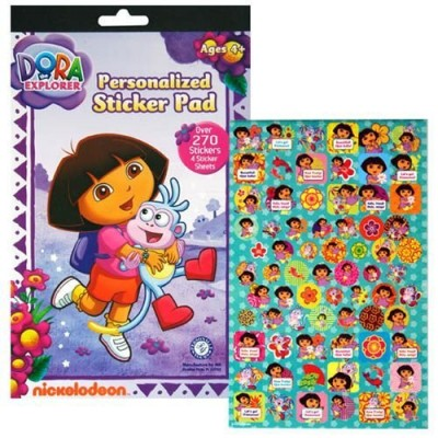 Dora The Explorer Sticker Pad with Over 270 Stickers