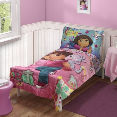 Dora the Explorer Toddler Bedding Set (Discontinued by Manufacturer)