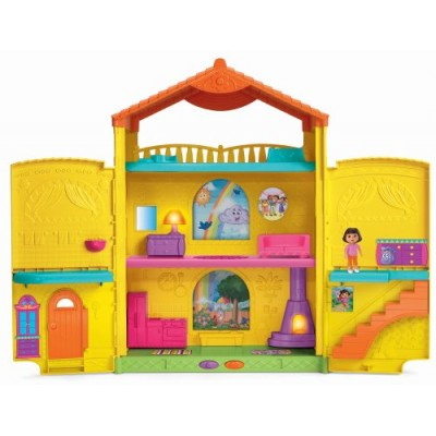 Fisher-Price Dora the Explorer Window Surprises Dollhouse