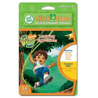 Leapfrog Clickstart Educational Software:Go Diego Go