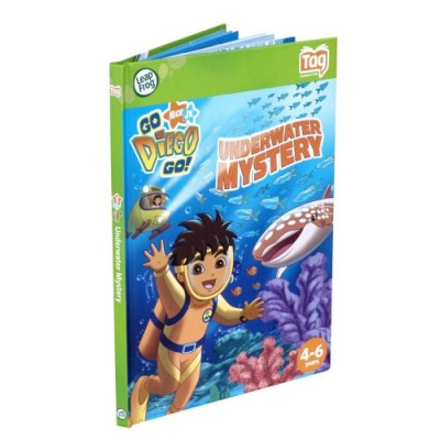 Leapfrog Tag Activity Storybook Go Diego Go!: Underwater Mystery