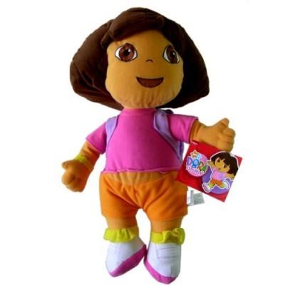 """Nick Jr. Dora the Explorer Large Plush Doll - 13"""" Dora Plush"""