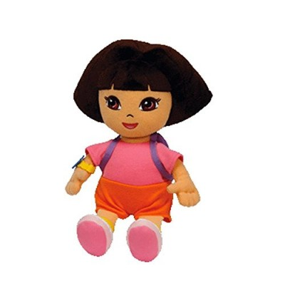 Ty Beanie Baby Dora the Explorer (Styles and Colors may vary)