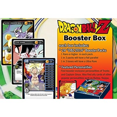 2014 Dragon Ball Z TCG Trading Card Game Sealed Booster Box (24 Packs) DBZ