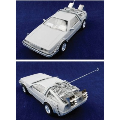 Dragon Models Back to The Future Delorean Model Kit, Scale 1:24