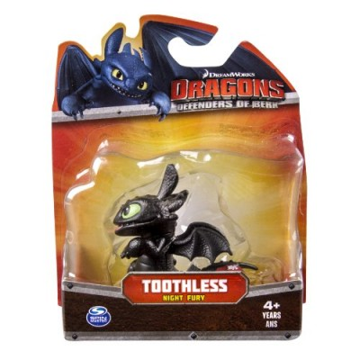 Dreamworks Dragons Defenders of Berk Mini Dragons, Toothless Night Fury