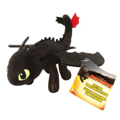 """DreamWorks Dragons: How To Train Your Dragon 2 - 8"""" Plush - Toothless"""