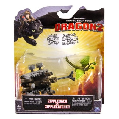 DreamWorks Dragons, How to Train Your Dragon 2 Battle Pack - Zippleback vs Zipplecatcher