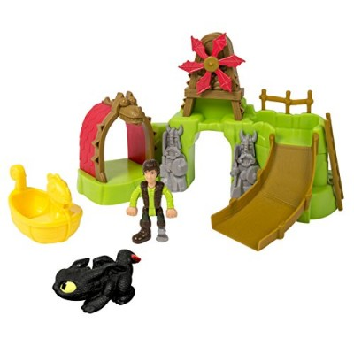 DreamWorks Dragons: How To Train Your Dragon 2 - Berk Island Bathset