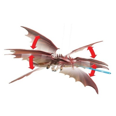 DreamWorks Dragons, How to Train Your Dragon 2 Cloudjumper Power Dragon (Double Wing Transformation)