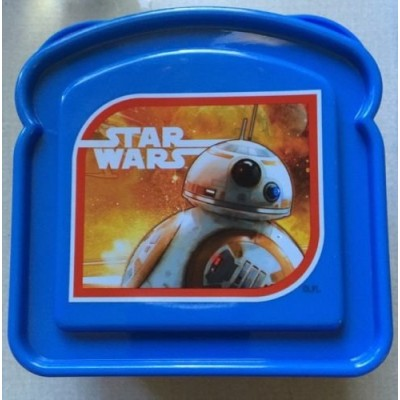 Star Wars Episode 7 The Force Awakens BB-8 Droid Sandwich Container