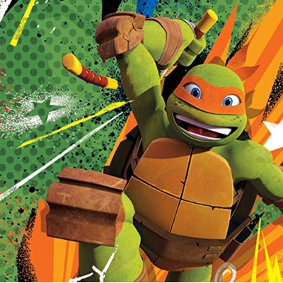 Duck Brand 281869 Licensed Duct Tape, Teenage Mutant Ninja Turtles, 1.88 Inches x 10 Yards, Single Roll