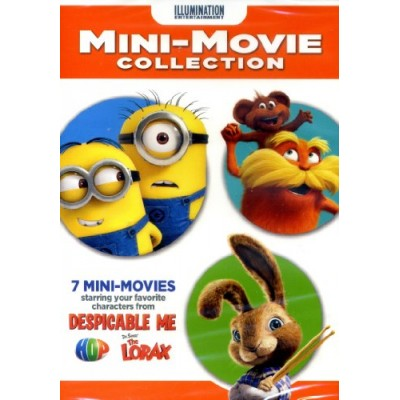 7 Mini-Movie Collection with characters from Despicable Me, Hop and The Lorax