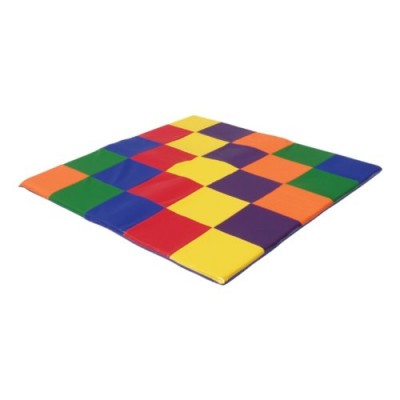ECR4Kids SoftZone Patchwork Toddler Play Mat