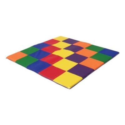 ECR4Kids SoftZone Patchwork Toddler Play Mat