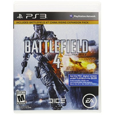 Battlefield 4: Limited Edition [PlayStation 3 PS3 BONUS China Rising Expansion Pack] NEW