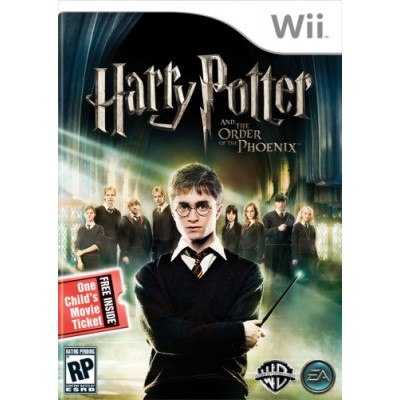 Harry Potter and the Order of the Phoenix (Includes Child Movie Ticket) - Nintendo Wii