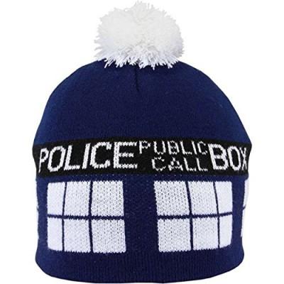 Doctor Who TARDIS Pom Beanie Hat
