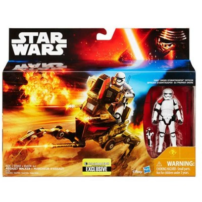 Star Wars Desert Assault Walker with Figure Entertainment Earth Exclusive