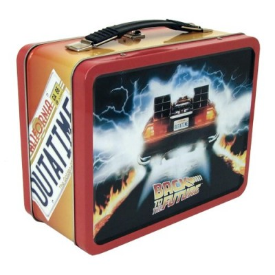 Factory Entertainment Back to the Future Tin Tote Bag