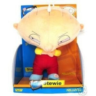 Family Guy : Cross Arm Position Talking Stewie 11in Plush Figure Doll Toy