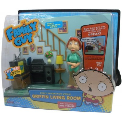 Family Guy - Griffin Living Room Playset