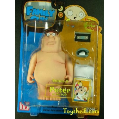 Family Guy Series 2 Carded Naked Peter