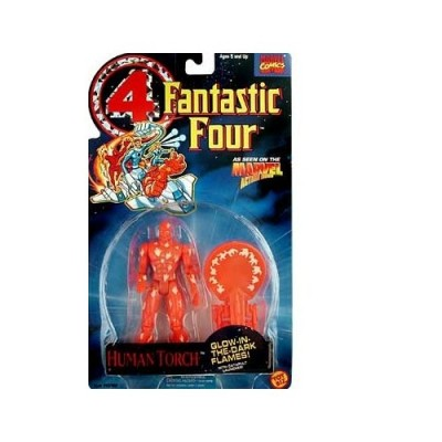 Fantastic Four > Human Torch (Glow-in-the-Dark) Action Figure