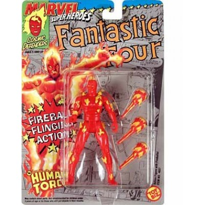 Fantastic Four Human Torch w/Fireball Flinging Action