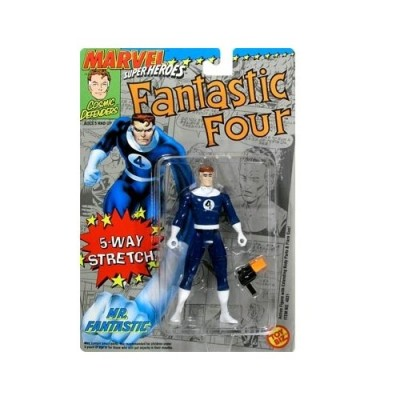 "MARVEL ""MR. FANTASTIC"" FANTASTIC FOUR MARVEL SUPERHEROES 5 WAY STRETCH"