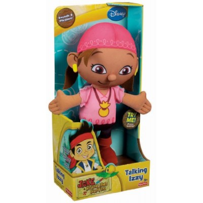 Fisher-Price Disney's Jake and The Never Land Pirates Izzy Talking Plush