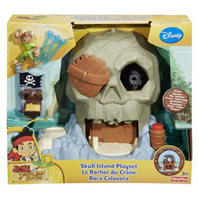 Fisher-Price Disney's Jake and The Never Land Pirates Skull Island