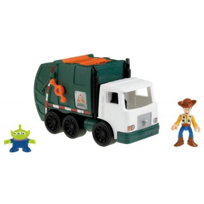 Fisher-Price Imaginext Disney/Pixar Toy Story 3 - Tri-County Sanitation Truck