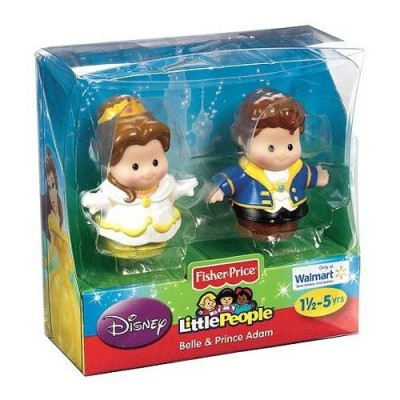 Fisher-Price Little People Disney 2 Pack: Belle and Prince Adam Exclusive