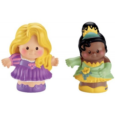 Fisher-Price Little People Disney 2 Pack: Rapunzel and Tiana