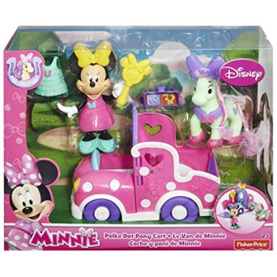 Fisher-Price Minnie Mouse Polka Dot Pony Cart