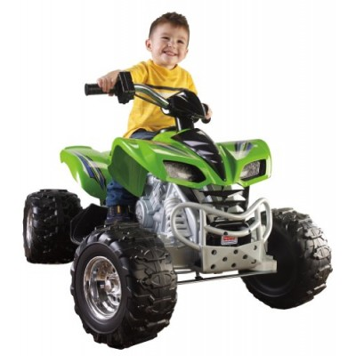 Fisher-Price X6641 Power Wheels Kawasaki KFX, Green