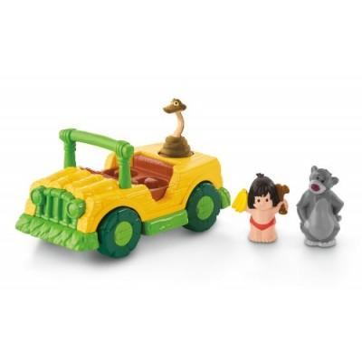 Little People Disney The Jungle Book Tiki Truck