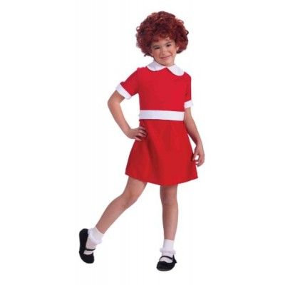 Forum Novelties Little Orphan Annie Child Costume, Medium