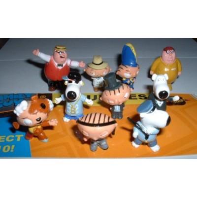 Family Guy Figures - Set of 10 Vending Machine Toys