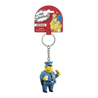 Fox The Simpsons Chief Wiggum 3D PVC Key Ring