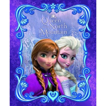 Disney Frozen Anna & Elsa Queen of the North Mountain Blanket (59 x 78 Inches)