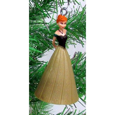 "Disney Frozen Christmas Tree Ornament Set Featuring Anna, Elsa, Kristoff, Olaf the Snowman and Winter Ornament, Ornaments Average 2"" to 3"" Tall"