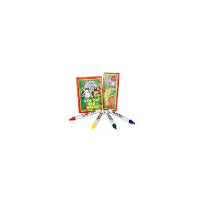 Zoo-Jungle Animal Coloring Sets (12 Sets)