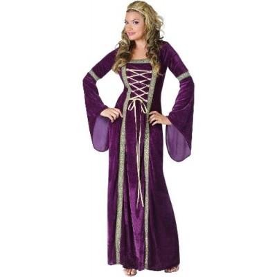 Fun World Costumes Funworld Deluxe Renaissance Lady, Purple, Small/Medium 2-8