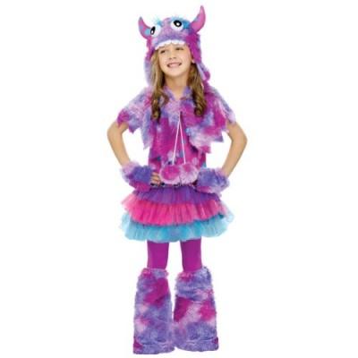 Fun World Polka Dot Monster Girls Costume Medium (8-10)