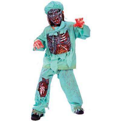 Fun World Zombie Doctor Child Medium (8-10)